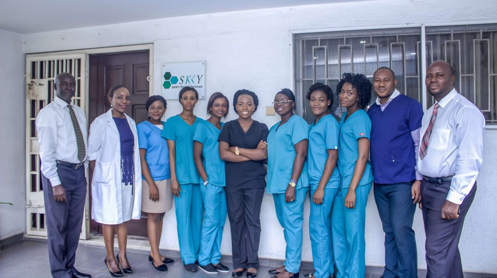 Skky Dental Services Team Photograph